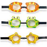 Дитячі окуляри для плавання регульований ремінець ар.0808-3, фото 3
