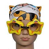 Дитячі окуляри для плавання регульований ремінець ар.0808-3, фото 4