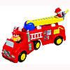 Развивающая игрушка KiddielandPreschool ПОЖАРНАЯ МАШИНА (на колесах,свет,звук)