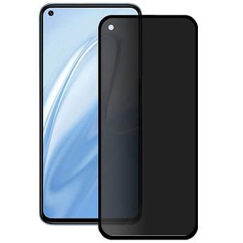 Защитное стекло Privacy 5D (full glue) (тех.пак) для Xiaomi Redmi Note 9 / Redmi 10X