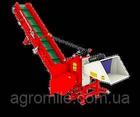 Измельчитель веток Arpal АМ-120ТР-К PRO с транспортером под ВОМ трактора (диаметр веток 120 мм)