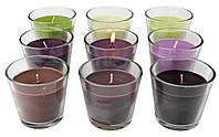 Свічка ароматична CLEMENT 3шт д.7см