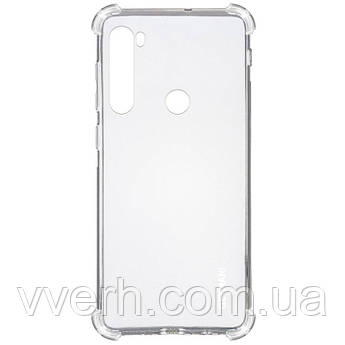TPU чехол GETMAN Ease logo кути посилені для Xiaomi Redmi Note 8