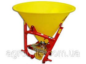 Розкидач солі та піску 200 л Jar-Met (пластик, 4 лопаті, метал) Польща