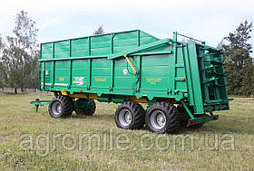 Машина для внесення твердих органічних добрив МТУ-24 -1 тривісне (24 т.) Бобруйскагромаш (Білорусія)