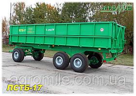 Прицеп самосвальный тракторный ПСТБ-17 (17 т) Бобруйскагромаш (Белоруссия )