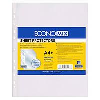 Прозрачные файлы А4+ EconoMix глянцевые 40 мкм 100шт Е31107