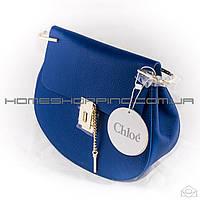 Женская кожаная сумка Chloe drew