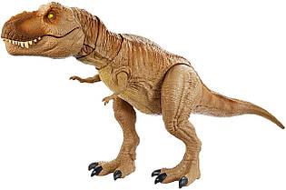 Игрушка динозавр устрашающее рычание Ти-рекса 54 см Jurassic World Tyrannosaurus Rex