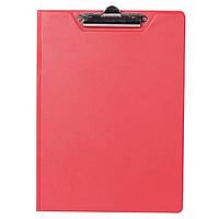 Папка-планшет А4 BuroMax 3415-05 красная с зажимом PVC