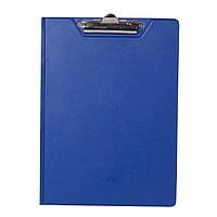 Папка-планшет А4 BuroMax BM.3415-03 синяя с зажимом PVC