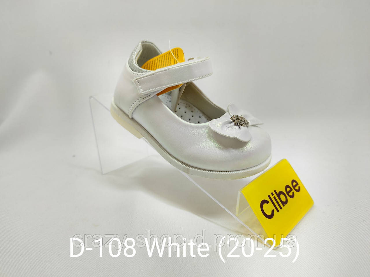Белые туфельки для маленькой феи.