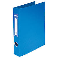 Папка А4 BuroMax на 2 кольца 4 см двухсторонняя синяя BM.3101-02