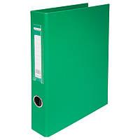 Папка А4 BuroMax BM.3106-04 на 4 кольца 4см двухсторонняя зеленая