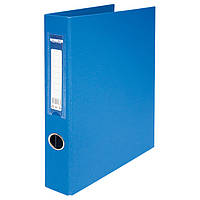 Папка А4 BuroMax BM.3106-02 на 4 кольца 4 см двухсторонняя синяя