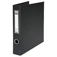 Папка А4 BuroMax BM.3106-01 на 4 кольца 4 см двухсторонняя черная