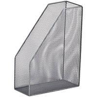 Лоток вертикальный BuroMax металлическая сетка серебро BM.6260-24