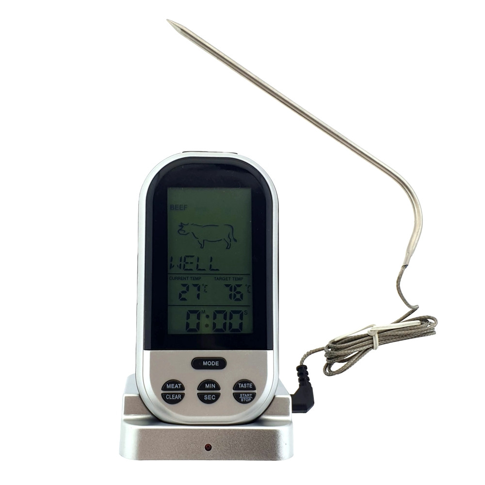 Цифровой термометр со съемной радио базой