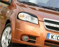 Защита на фары Chevrolet Aveo 3 (2006-)