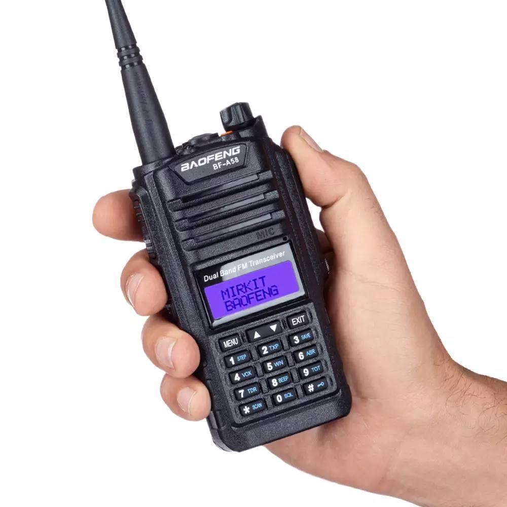 Рація Baofeng BF-A58 IP67 портативна радіостанція