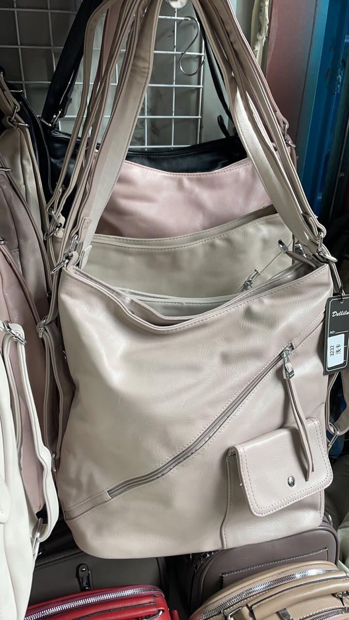 Сумка-рюкзак жіноча - штучна шкіра!