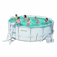 "Каркасный бассейн ""BestWay"" - размер  549 см х 122 см"