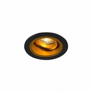 Точечный светильник Zuma Line 92702 Chuck Dl Round Black-Gold