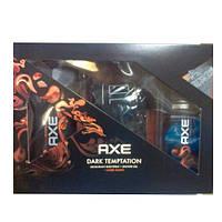 AXE Dark Temptation (гель для душа 250 мл + дезодорант аэрозольный 150 мл + трусы боксеры) НАБОР