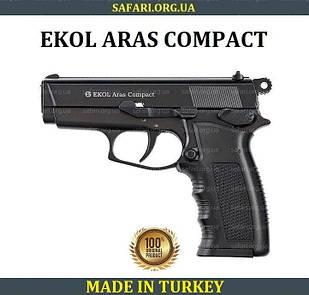 Стартовый пистолет Ekol Aras Compact (Black) Сигнальный пистолет Ekol Aras Шумовой пистолет Ekol Aras
