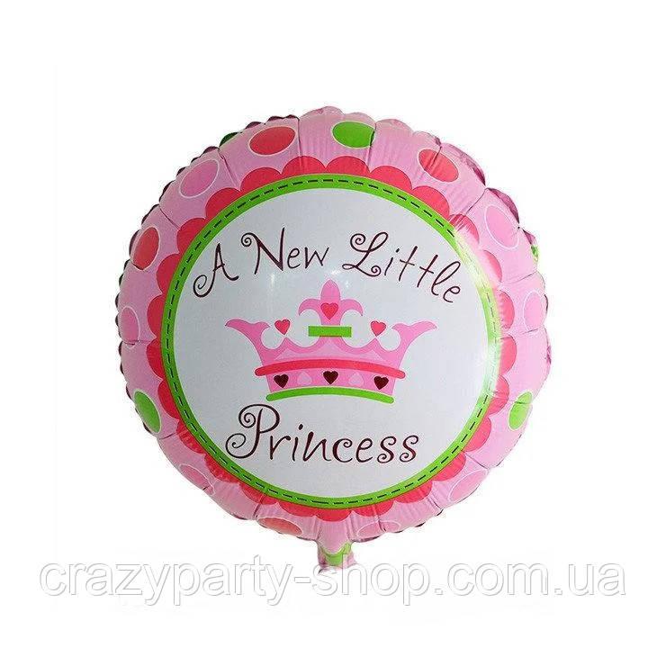 Куля -гігант фольгований Принцеси Дісней США 1 м