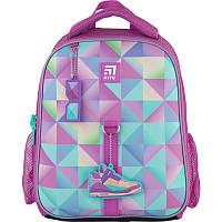 Рюкзак школьный каркасный Kite Education Cool girl Розовый K21-555S-3