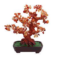 """Дерево из камня """"Сердолик"""""""