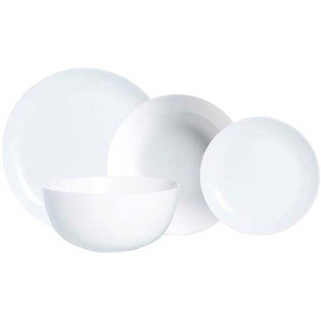 Сервиз Luminarc DIWALI белый 19 предметов, фото 2