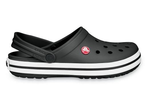 Подростковые кроксы Crocs Crocband Clog черные 38 р.
