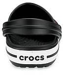 Подростковые кроксы Crocs Crocband Clog черные 38 р., фото 4