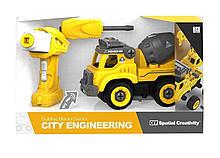 """Конструктор QUNXING """"Будівельна техніка"""" (LM8015-DZ-1)"""