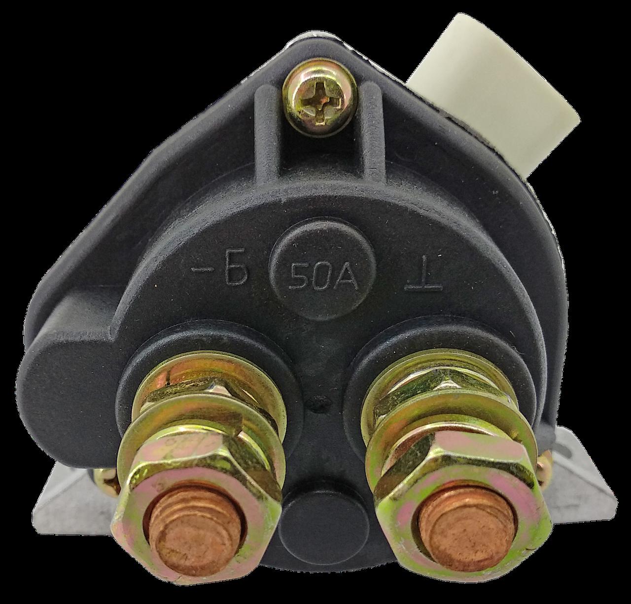 Кнопковий вимикач маси КАМАЗ, МАЗ 5320.3737010-01 (мідна котушка)