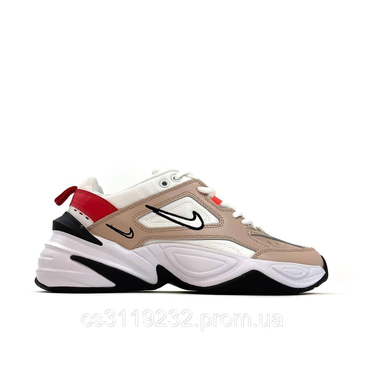 Мужские кроссовки Nike M2K Tekno White Beige (бежевый)