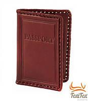 Кожаная обложка на паспорт, фото 1