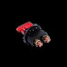 Вимикач маси універсальний, механічний 12/24В (червона мідь) 80A, фото 2