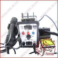 Паяльная станция Aspor 8586 паяльник + фен, двухканальная цифровая