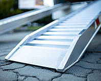 Алюминиевые трапы UEL0725S00 (Наезд, лафет, рампа, платформа, аппарель, заезд)