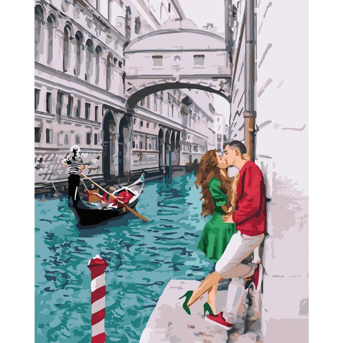 """Картина по номерам Идейка """"Страсть по-итальянски"""" 40х50см KHO4681"""