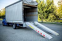Алюминиевые трапы UEL0720S00 (Наезд, лафет, рампа, платформа, аппарель, заезд)
