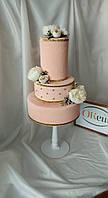 Торт муляжный три этажа