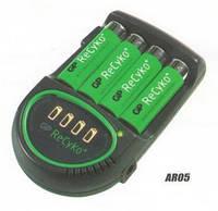 Зарядное устройстово GP AR05 GS210B UW4 ReCyko