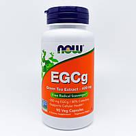 Экстракт зеленого чая!! Now Foods Green Tea Extract EGCg 400 мг 90 кап.