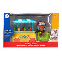 """Іграшка Huile Toys """"Візок з морозивом"""" (6101)"""