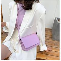 Модная женская сумка через плечо - Лавандовая, фото 3