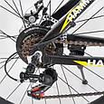 Спортивный горный велосипед HAMMER S200 26 дюймов алюминиевая рама черно-желтый, фото 6